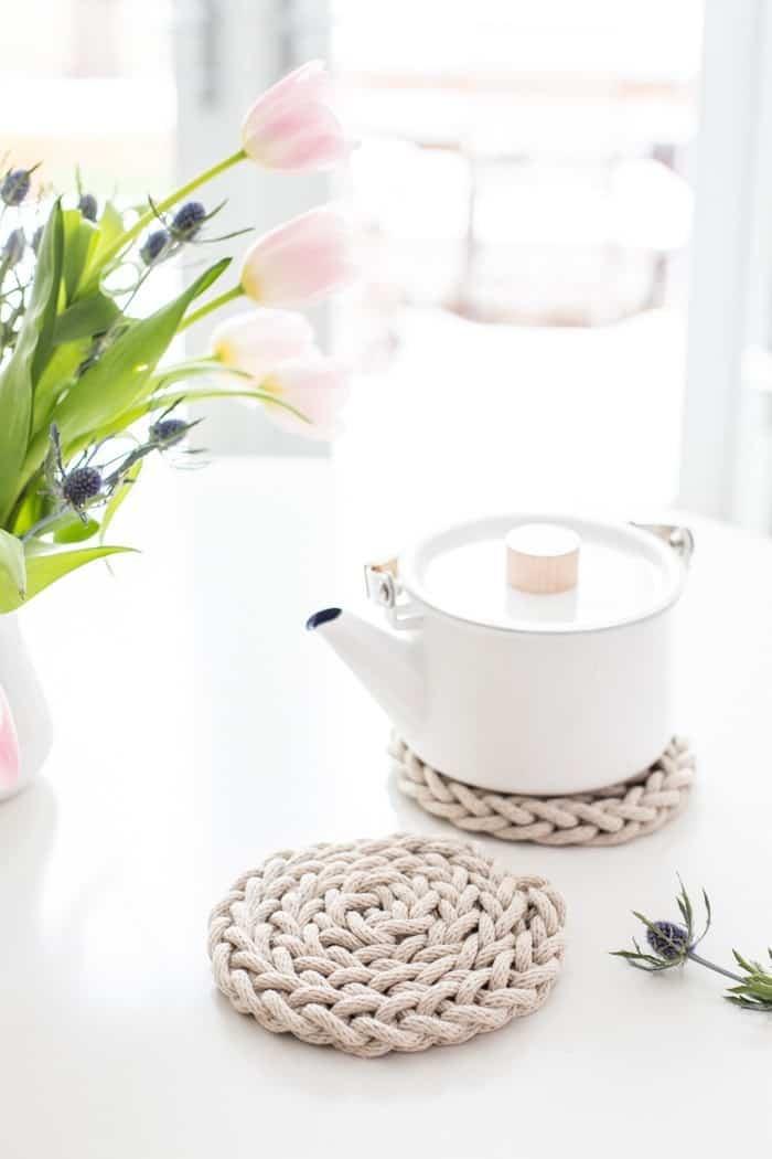 DIY cup coasters