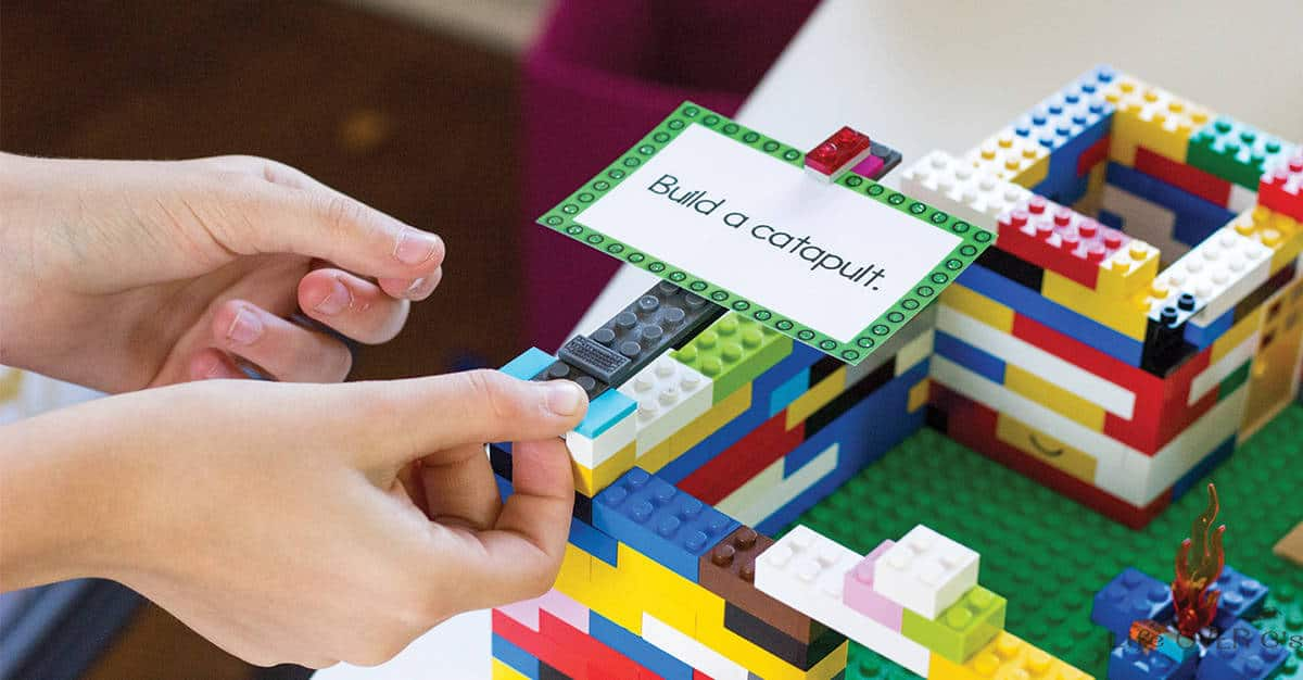 Simple Lego games to play with your kids