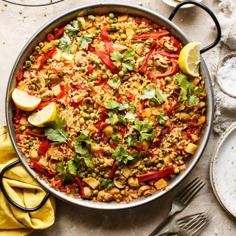 one pot paella recipe