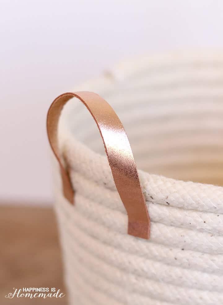 DIY rope baskets