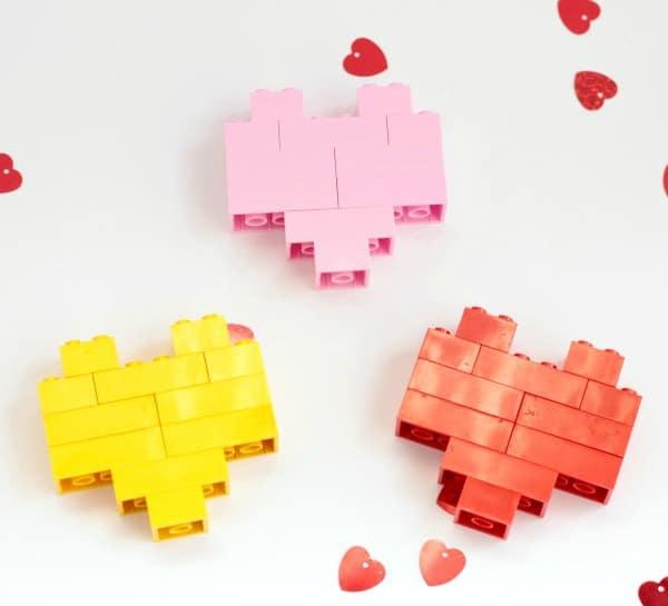 Build a lego heart