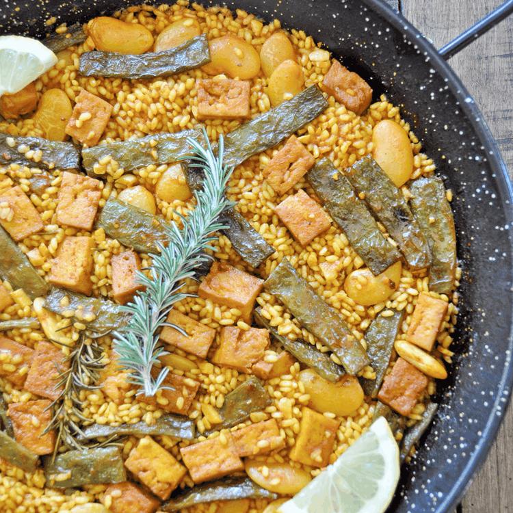 Authentic spanish vegan paella recipe